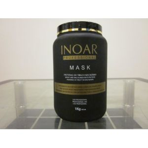INOAR Masque capillaire de protéines et de macadamia 1 Kilo (MULTIMASTER, neuf)