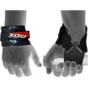 RDX Gym Crossfit Sangle Fitness Musculation Poignet Support Entraînement Haltérophilie - Noir (RDXINC LTD, neuf)