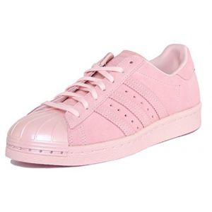 adidas Superstar 80s Metal Toe W Basket Mode Femme  - Rose (Roshel / Roshel / Roshel) - 37 1/3 EU (street-sport, neuf)