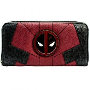 Marvel Deadpool Costume Anti-Hero Up Rouge Portefeuille (SamuelUKMedia, neuf)