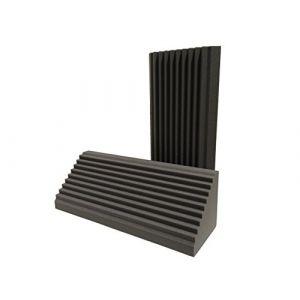 Advanced Acoustics Wedge Bass Trap Lot de 2éléments en mousse pour isolation acoustique 0,9m (Advanced Acoustics, neuf)