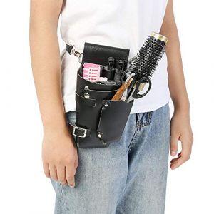 Salon Ceinture Ceinture, Styliste Outils De Coiffure Sac Professionnel Pochette Sac Barber Scissor Peigne Holster Ceinture Pour Barber Peigne Scissor Kits (Koulaten, neuf)