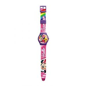 Montre Enfant Disney Minnie Mickey Mouse Donald Dingo (licence team, neuf)