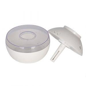 Bloodfin Mini humidificateur atomiseur,Avancée Humidificateur de Brume Fraîche Ultrasonique Fonction d'Arrêt Automatique Diffuseur d'huile essentielle pour la maison, bureau,le Spa (Blanc) (Bloodfin, neuf)