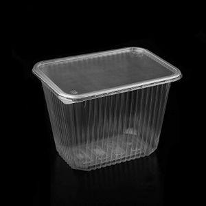 (Pack de 40 articles) 2000 ML en polypropylène de Grande conteneur à Salade à emporter Fast Food Boîte jetable Couvercles en Plastique, 2000 ML (Skirmantas, neuf)