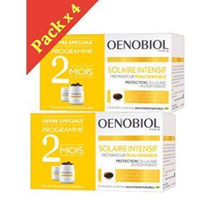 Oenobiol Solaire Intensif Nutriprotection Peaux Claires - Lot de 4 x 30 Capsules PC (WEBPARA, neuf)