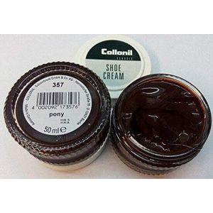 Collonil Shoe Cream - Cirage - Gris - Poney, 50 ml EU (Soin Des Chaussures 24, neuf)