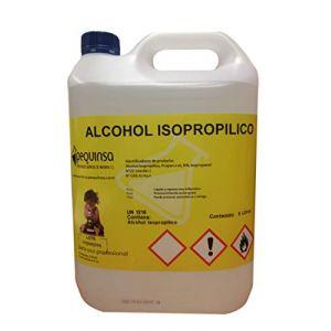Alcool isopropylique à 99% Bidon de 5L (PEQUINSA , PREPARADOS QUIMICOS DE NAVARRA, neuf)