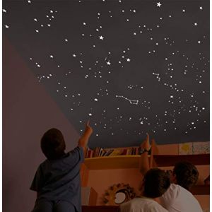 5968cc1abb766 Encambio Alcrea Kit de 540 étoiles Phosphorescentes