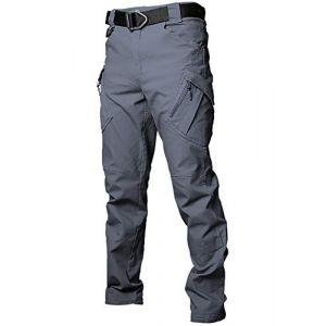 Gdtime Pantalon Cargo Homme de Travail Randonnée Sport Coton Militaire Pants (Vecys, neuf)