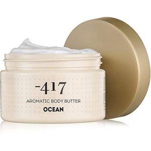 -417 Beurre corporel aromatique océan - Minéraux précieux de la mer Morte - Beurre de karité - 250ml (Minus 417, neuf)