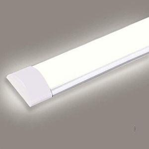 LED Tube Luminaire, 30W 90CM 3600LM Réglette LED, Couleur Blanc Neutre, Ultraslim Led Plafonnier Pour Garage Bureau Supermarché Cave Atelier Département Salle De Bains Cuisine (Readyfor, neuf)