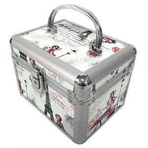 Mallette Professionnelle Cosmétique Beauty Case 17 x 13 x 13cm (vococal-tech, neuf)