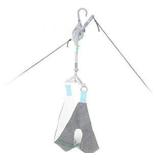 Cervical Traction Cou Masseur de cou Unisexe Neck Relax Hammock Portable Zervikale Appareil de traction Appareil d'ajustement de la nuque Stretcher Appareil de massage Chiropratique (salmueu, neuf)