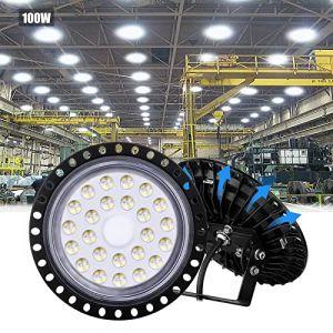 Sararoom 100w Extérieure Imperméable LED Phare IP67 6000K 15000LM Projecteur Cool Blanc LED Projecteur Pour Jardin Cour Terrasse Place Usine (Sararoom-fr, neuf)