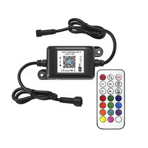 INDARUN RGBW wifi contrôleur pour le spot encastrable rgb + télécommande extérieur étanche (INDARUN-EU, neuf)