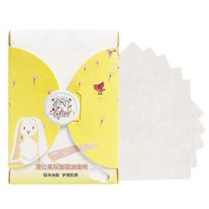 Hommes Femmes Summer Oil Control buvard peau papier buvard 300 feuilles, Senteur de pissenlit (Koala Superstore EURO, neuf)