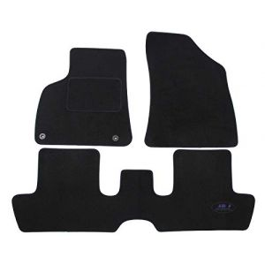 J&J AUTOMOTIVE | Tapis DE Sol Noir Velours Compatible avec Peugeot 3008 2009-2016 3 pcs (J&J AUTOMOTIVE, neuf)