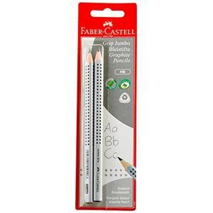 Faber-Castell 111992 Jumbo Grip HB Lot de 2 crayons à papier (IS Boutique, neuf)