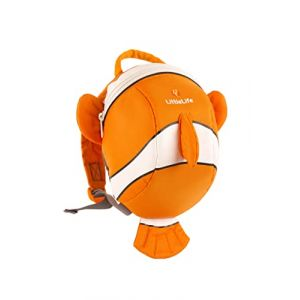 Littlelife Sac à dos pour enfant Tagesrucksack Toddler Animal Clownfish, multicolore – multicolore, L10810 (Freeness-Shop, neuf)