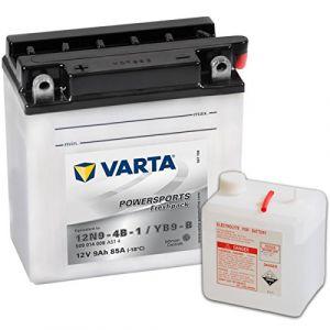 VARTA 549640 Powersports Freshpack Batterie de Moto, 12 V/9 Ah (BATTERYSET, neuf)