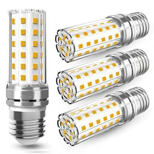 12W Ampoule E27 Maïs, E27 LED Blanc Chaud 3000K 1450LM Lumineux, Ampoule LED Maïs, Équivaut à Ampoule Halogène 100W, Ampoule Edison E27 AC 230V 360° Angle, Lot de 4 (ailisendzkj-EU, neuf)