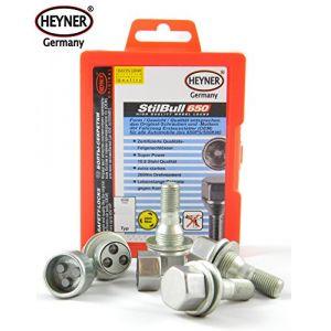 PEUGEOT 208 2012 + écrous de roue de blocage M12x1,25 ANTIVOL PROTECTION DES VIS (alca-heyner shop, neuf)