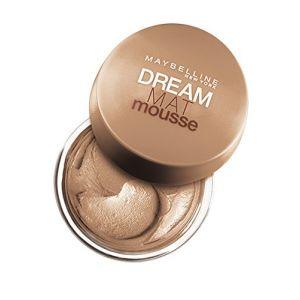Gemey Maybelline Dream Mat Mousse Fond de Teint 40 Beige Doré (produits discount, neuf)
