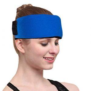 Poche de gel chaud froid glace bouillotte Réutilisable 2 Gel Ice Pack & 1 Hot Cold Therapy Wrap Flexible Réutilisable pour le soulagement de la douleur rapide, les blessures sportives, les premiers soins essentiels, idéale pour le coude au cou, le genou a