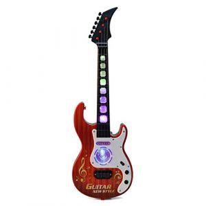 DYFO 4 Cordes Guitare Enfant Guitare Electrique Instruments éducatifs Jouet Idéal pour d'enfants Débutant-909A (GRANADA CONSULTING LIMITED, neuf)