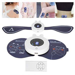 Masseur cervical, masseur de cou intelligent, masseur de cou électrique masseur d'épaule arrière sans fil machine de coussinets de stimulateur musculaire électrique pour le dos (runatyo, neuf)