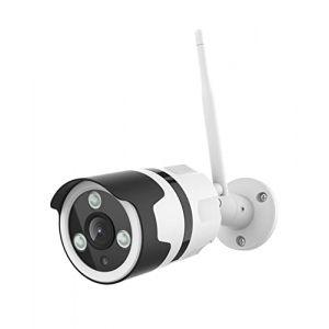 Caméra Surveillance WiFi, Netvue Full HD 1080P Caméra IP sans Fil avec Vision Nocturne, Détection de Mouvement, Audio Bidirectionnel, Caméra de Sécurité Extérieur Compatible avec Alexa (NetVue, neuf)