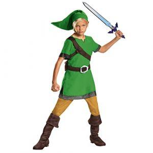 THE LEGEND OF ZELDA- Classique Déguisement, Boys, DISK85718K, Link, Moyen (Creative Group, neuf)