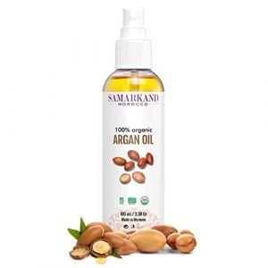 Huile d'argan BIO 100% Pure de Première Pression à Froid Pour Corps et Cheveux - L'original du Maroc (100 ml) (JAMONPRIVE, neuf)