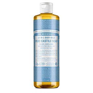 Dr. Bronner Magic Soaps Savon de Castille sans essence écologique 475 ml (Talea Naturkosmetik, neuf)