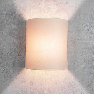 Tissu Applique murale de couleur crème Loft moderne élégant Applique murale ALICE (Licht-Erlebnisse, neuf)
