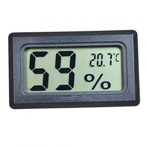 Szaerfa Digital LCD Thermomètre Hygromètre Température Humidité -50~70 ? 10% ~ 99% RH (Noir) (szaerfa, neuf)
