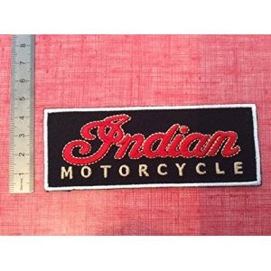 ECUSSON PATCHES AUFNAHER TOPPA - INDIAN MOTORCYCLE 3 - THERMOCOLLANT (IDECALE, neuf)