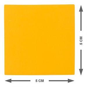 Pense-bêtes Magnétiques Réinscriptibles 5 x 5 cm - Ensemble de 25 Aimants Orange - pour Tableau Magnétique. (2DOBOARD, neuf)