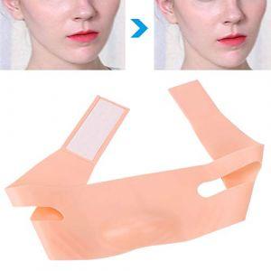 Masque Visage Minceur Visage - Bandages Visage Minces Ceinture Visage V-Face Ceinture - Masque Visage Lift Fermeté (Rotekt, neuf)