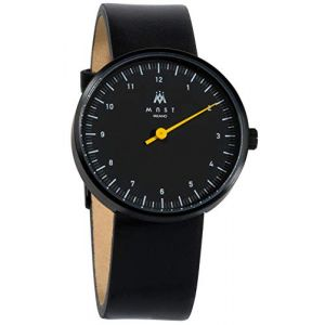 MAST MILANO BK106BK01-L-UNO - Montre pour Homme Mono Aiguille Ultra Plate (Watch Your Watch, neuf)