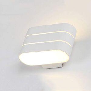 Dicai 10 W LED En Aluminium Simplicité Appliques Murales Moderne En Métal Lumière Chaude Carré Applique Murale Nordic Chambre Lampe De Chevet Liseuse Classique Acrylique Applique Murale (Xin Hongming, neuf)