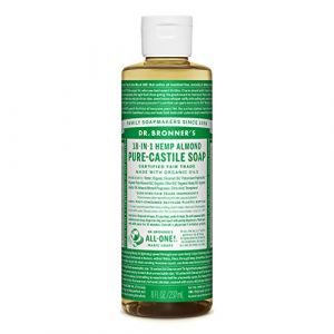 Dr. Bronner's Savon liquide bio pour amande pure-castille, 237 ml (Ponera, neuf)