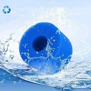 Cartouches filtrantes éponge type S1, pour Intex Type S1 Filtre Whirlpool Lazy Spa Filtre Piscine Éponge Filtre Réutilisable Cartouche de rechange lavable (1 pièce) (JM-KBB, neuf)