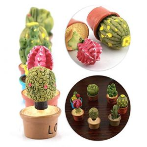 Décorations en pot, décorations de bureau avec une variété de modèles de meubles végétaux, petites et jolies décorations peuvent décorer votre table basse de bureau (runatyo, neuf)