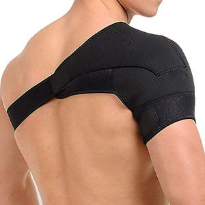 SOFIT Support d'épaule, Bandage épaule Réglable Néoprène, pour Tendinite, épaule Dislocation, Réduire la Douleur à l'épaule, Prévention et Récupération des Blessures Sportives, pour Femmes et Hommes (ZenTec, neuf)