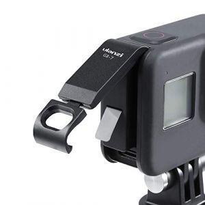 ULANZ G8-7 Couvercle de la Batterie Adaptateur de Port de Charge de Type C Amovible Alliage d'aluminium pour GoPro Hero Black 8 (KEphoto, neuf)