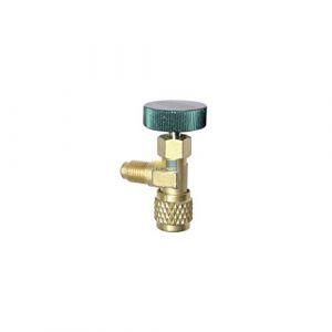 'Robinet entnahme Robinet vanne de raccordement 1/4SAE Fluide frigorigène refco a33010 (stock de pièces détachées, neuf)