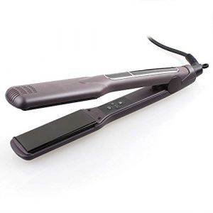 Fer à lisser, fer à friser à la tourmaline ionique, soins du fer pour cheveux mouillés/secs,M (YTPBOAFG, neuf)