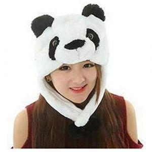 Funny Short Peluche Halloween Festival Party Stéréoscopique Créatif Forêt Steppe Animaux Mardi Gras Parti Costume Chapeau (Panda) (tyufgt6u, neuf)